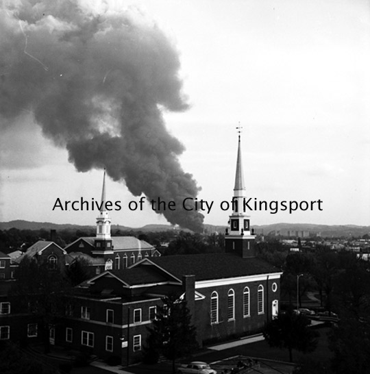 Tennessee Eastman Explosion, October 4, 1960 (1/6)