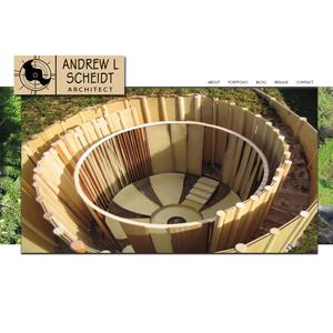 Andrew Scheidt WordPress site