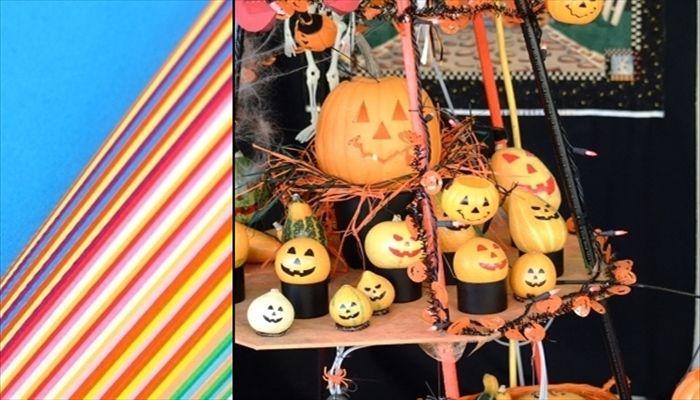 すべての折り紙 ハロウィン 飾り 折り紙 : ハロウィンの飾り付けは ...