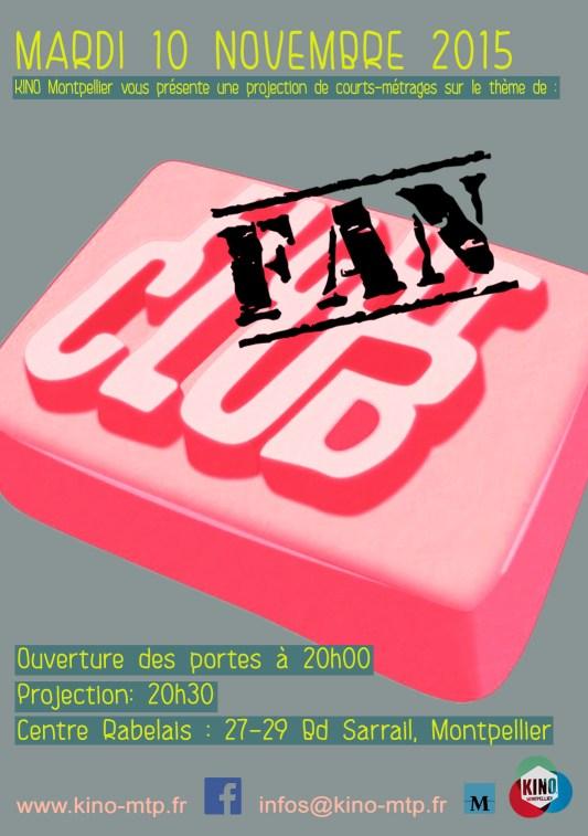Affiche Fan Club