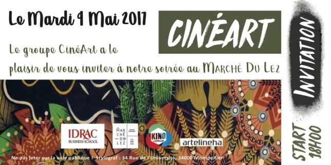invitation cinéart