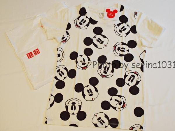 ユニクロミッキーマウスUTシャツ
