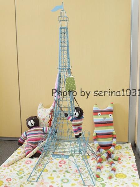 ミニラボ250分の1サイズのエッフェル塔