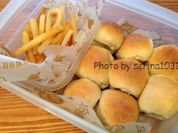 日本一簡単に家で焼けるパンレシピハンバーガー