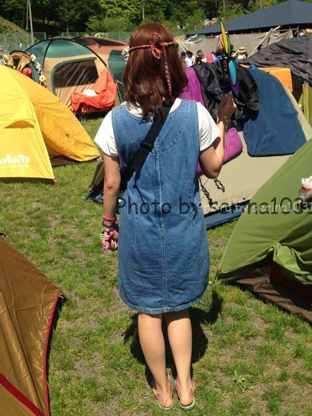 TAICOCLUB女子の服装