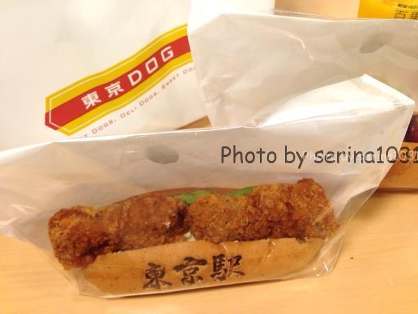 東京駅構内東京DOG