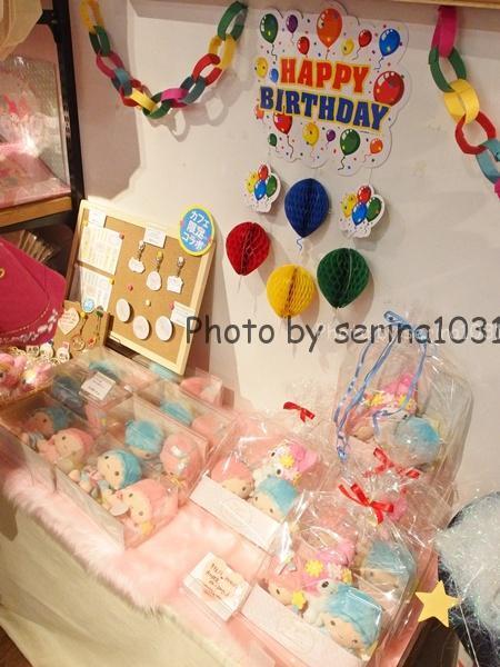 キキ&ララ♥マイメロディ 40th anniversary cafeカフェ限定グッズ