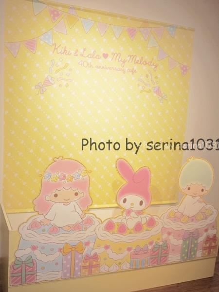 キキ&ララ♥マイメロディ 40th anniversary cafeフォトブース