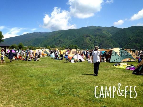 TAICOCLUBフェスキャンプ