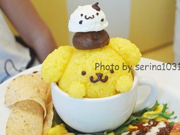 ポムポムプリンカフェ食事メニュー