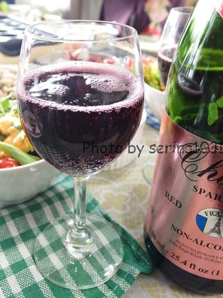 赤ワインみたいなジュース