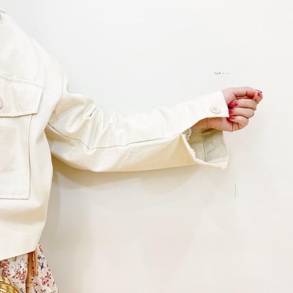 DHOLICフラップポケットショートジャケット