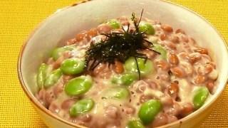【その原因腸にあり】三豆丼の作り方レシピ!もち麦ごはんで腸活ダイエット!