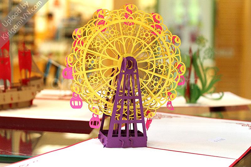 Ferris Wheel Pattern preview KirigamiVN 5
