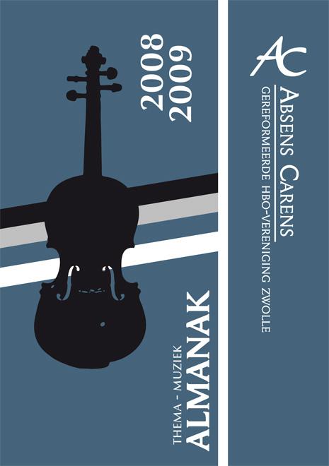 Almanak studentenvereniging Absens Carens 2008-2009