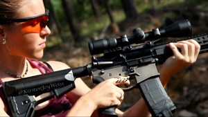looking at ar-15 Kirsten Joy weiss 300 blackout branded