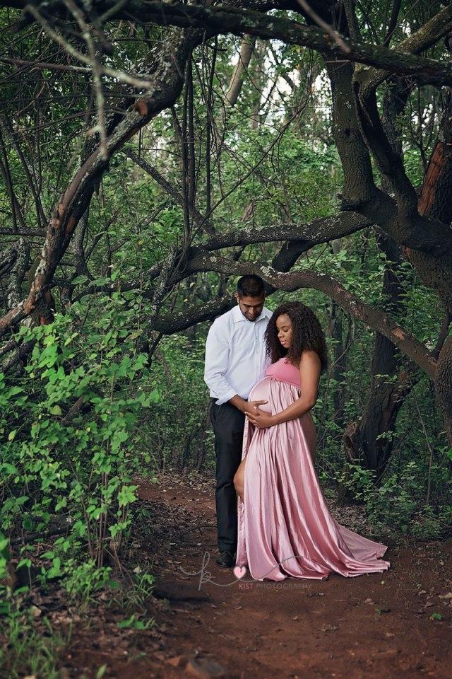 Forest Maternity Session - Johannesburg - Kist Photography