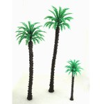 Palm plastic trees