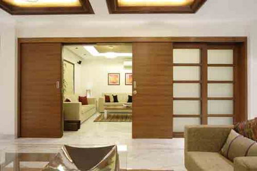 Living hall partition kitchen decor for Living hall interior
