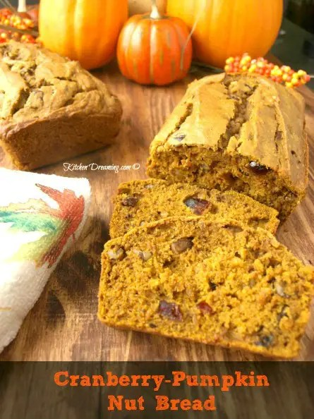 Cranberry Pumpkin Nut Bread