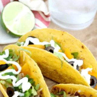 Crock Pot Beef Tacos are simple to prepare and easily makes a flavorful family meal in minutes. It's also economical. Make Taco Tuesday at home instead of paying a restaurant! Crock Pot Beef Tacos are a stress free and convenient meal plan.
