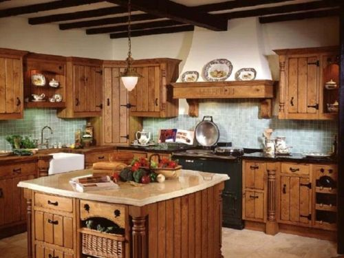 Elegant Island Country Kitchen Country Kitchens Info Large Open Plan Kitchens Large Kitchens
