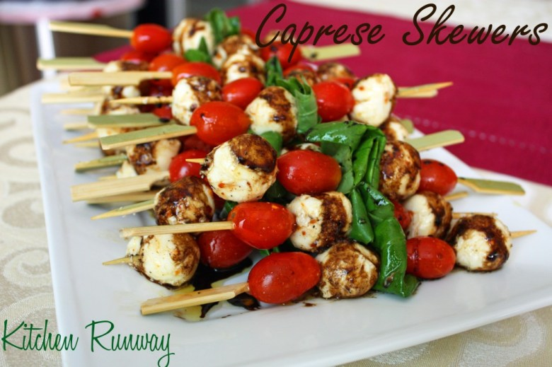 Paleo Caprese Salad with Balsamic Reduction