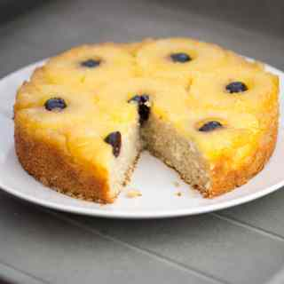 Gluten Free Pineapple & Coconut Upside Down Cake