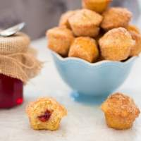 Xmas Duffins with Mulled Cranberry Jelly