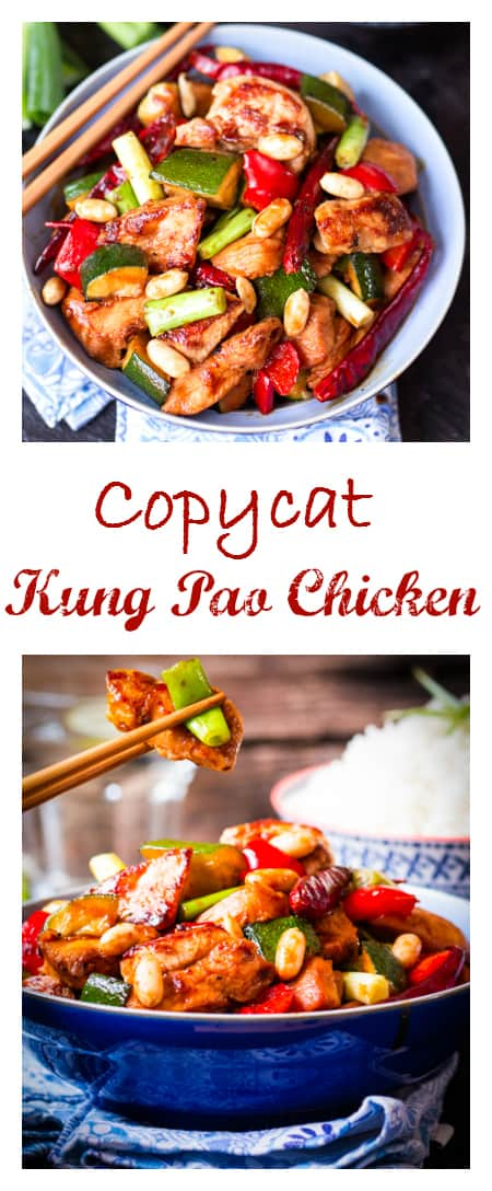 Copycat Panda Express Kung Pao Chicken - AMAZING!