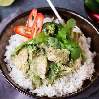 Skinny Thai Green Curry