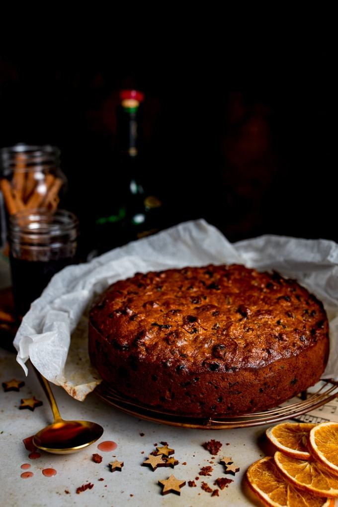 An easy Christmas cake that turns out perfect every time. No creaming, beating or soaking of fruit required!