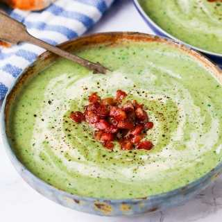 Cream of Broccoli Soup plus a $700 Amazon GIVEAWAY!