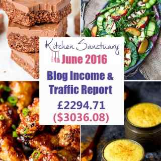 Blog Income and Traffic Report June 2016