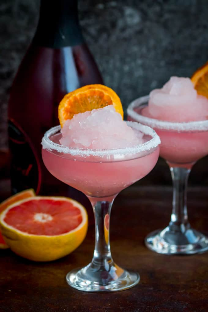 Frozen pink grapefruit prosecco cocktail great british for Drinks with prosecco and vodka