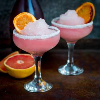 Frozen Pink Grapefruit Prosecco Cocktail & Great British Food Award Nomination