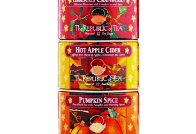 The Republic of Tea - Harvest Stackable Tea Tin