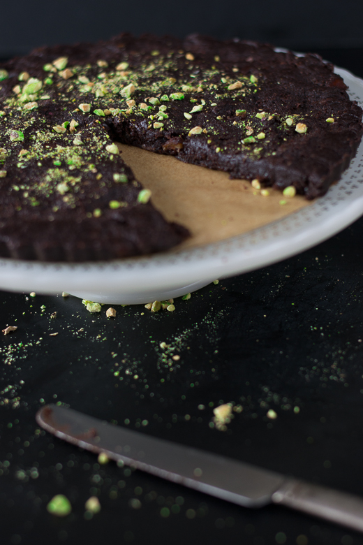 raw chocolate tart 5