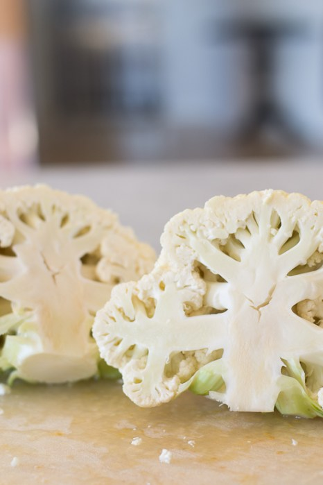 cauliflower cut open