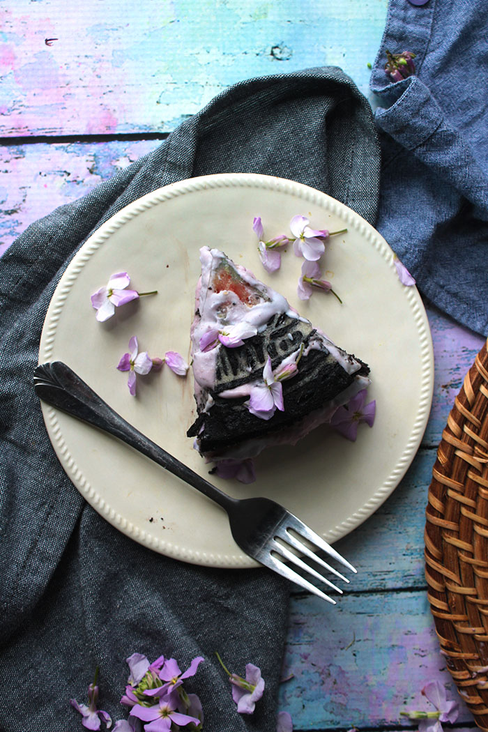 This is the only vegan and gluten-free chocolate cake you will ever need. I adapted my nana's recipe, so you know it's good.Big fat bonus, learn how to make a cake design from an album cover. This Emotionalism birthday cake is perfect for any Avett fan.