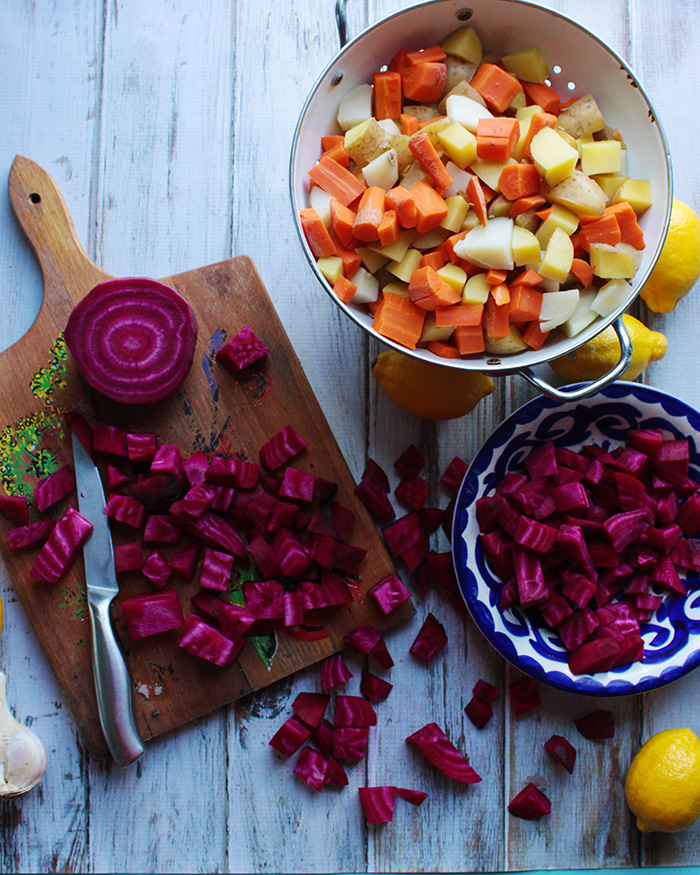 This sort-of-traditional Russian beet salad is cheap, healthy, and easy to make.