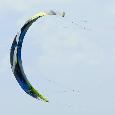 Varial-X rear view of the 9m 2015 kite