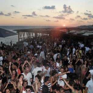 Italy sunset party