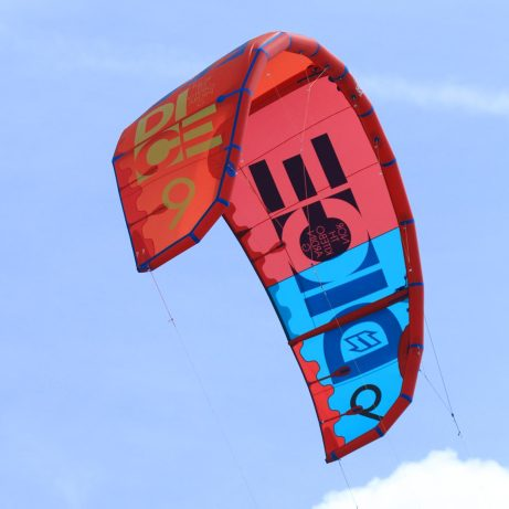 North Dice 2015 kite in flight