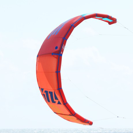 North Dice 2015 kite in front angle