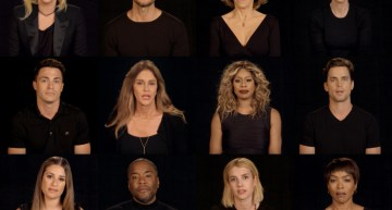 Stars United To Honour The Orlando Victims (Video)