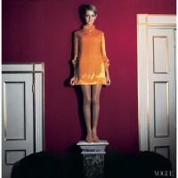 Twiggy for Vogue