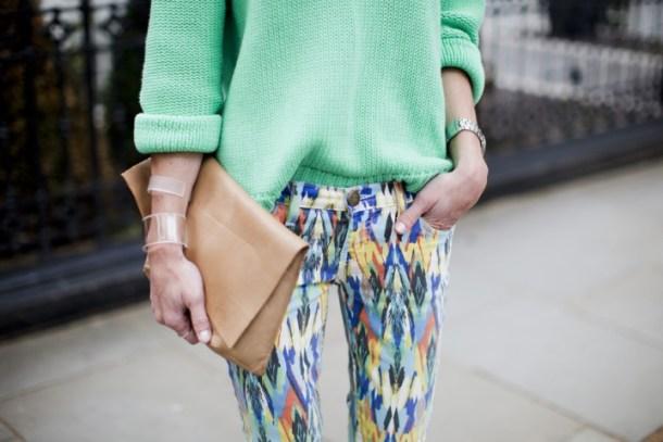 Джинсы лета 2012 — разноцветные джинсы