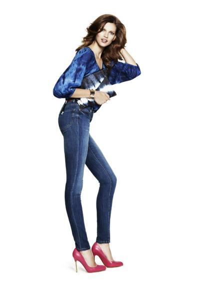 Как выбрать джинсы - советы девушкам - Джинсы с завышенной талией 2