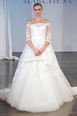 Подборка свадебных платьев от Marchesa - модная свадьба сезона весна 2013 - 13